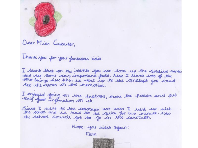 Bream Primary School, Gloucestershire 2012 | War Memorials Trust