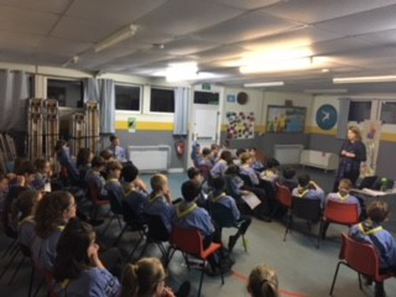 263c202a 33rd Oxford (Kidlington) Sea Scouts during session led by WMT LO c. D