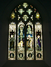Pilton war memorial window, Devon © Mr Alan Francis Graveley, 2009