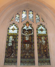 Cotgrove war memorial window, Nottinghamshire © Rachel Farrand, 2010