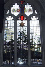 Burma Star memorial window, South Glamorgan © St John the Baptist Church Cardiff, 2005