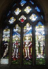 Skipsea Church memorial window, East Yorkshire © Marigold Vodden, 2012