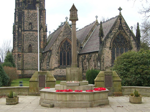 Alderley Edge war memorial, Cheshire © Michael P Coyle, 2013