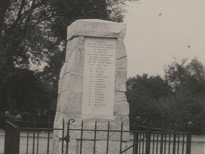 Henham war memorial, Essex