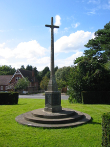 Rolvenden war memorial cross, Kent © War Memorials Trust, 2007