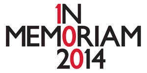 In Memoriam 2014 logo
